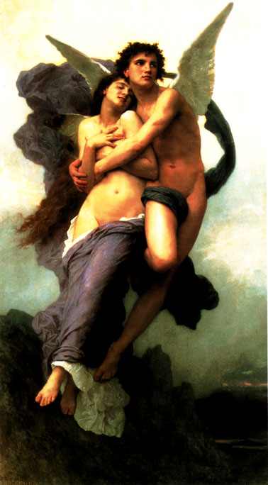 Bouguereau's The Abduction of Psyche