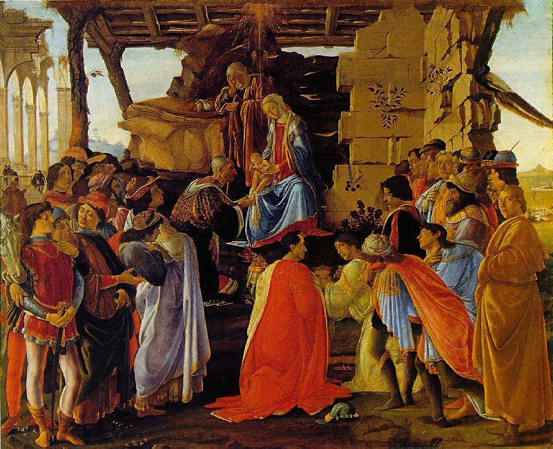 Botticelli's Adoration of The Magi