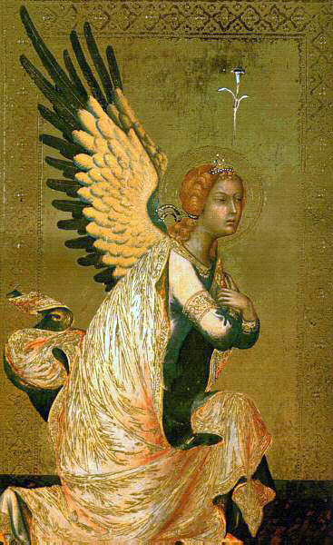 Martini's Angel of The Annunciation