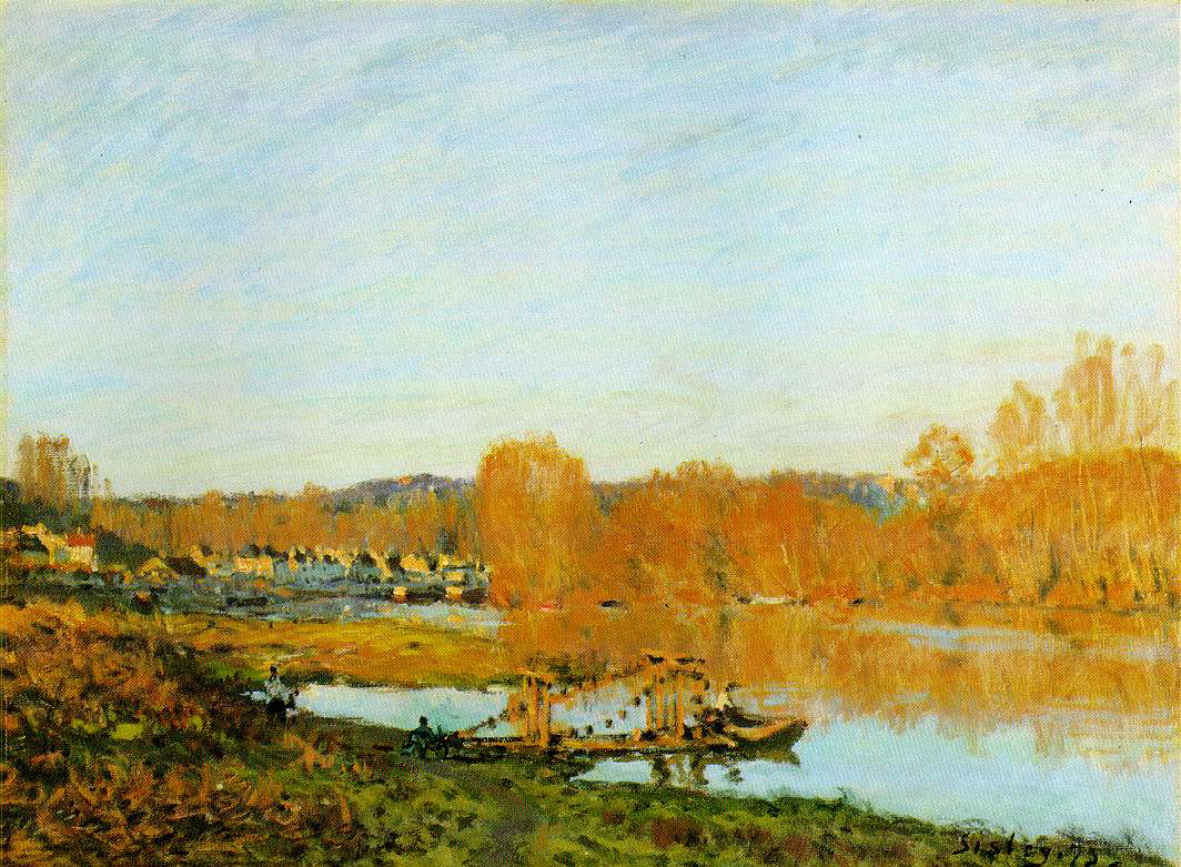 Sisley's Autumn: Banks of The Seine