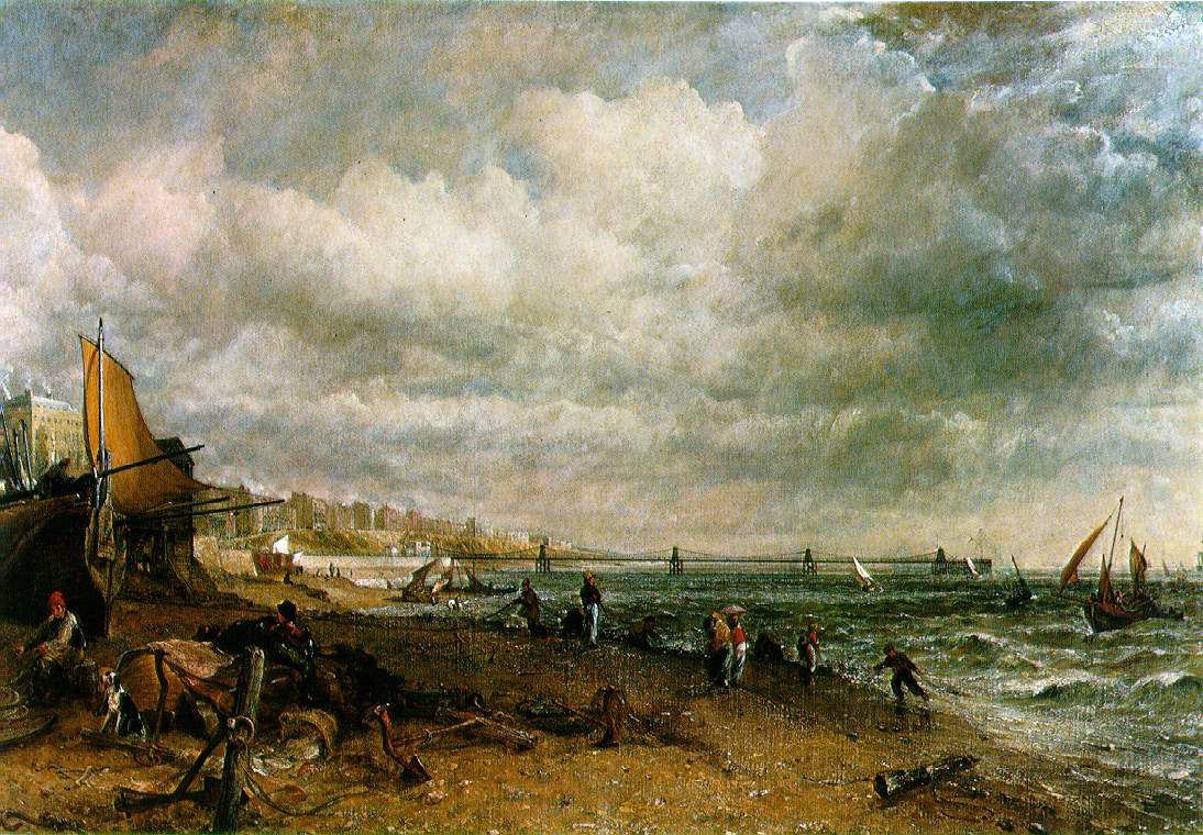 Constable's Chain Pier, Brighton