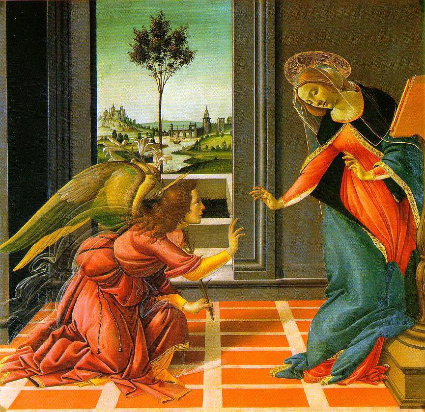 Botticelli's Cestello Annunciation