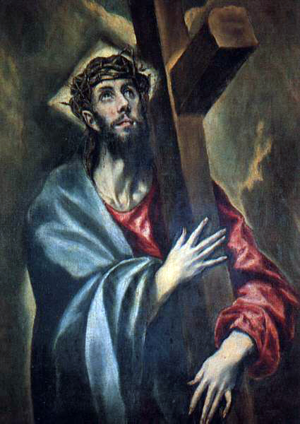 el Greco's Christ Carrying The Cross