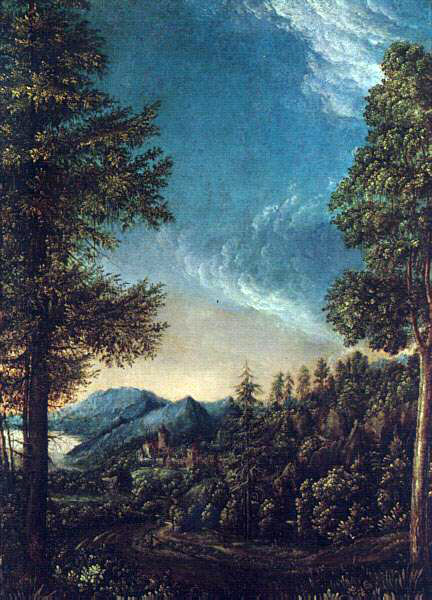 Altdorfer's View of The Danube Valley Near Regensburg