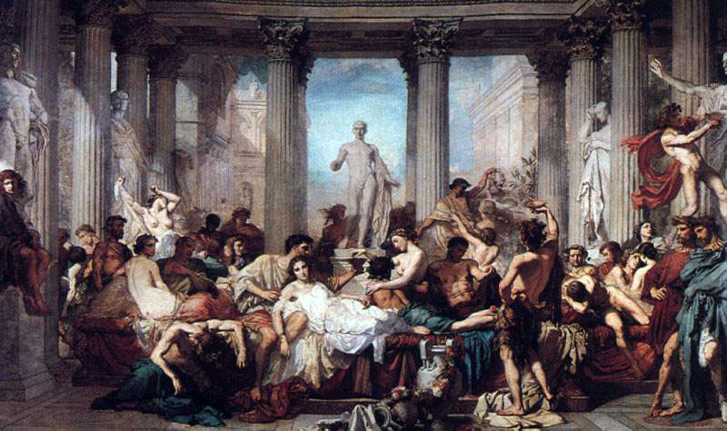 Thomas Couture's Romans of The Decadence