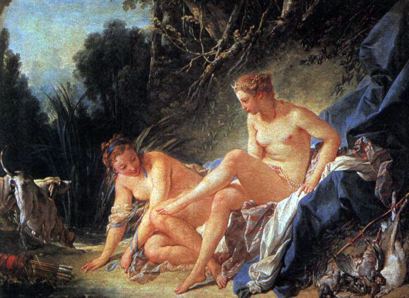 Boucher's Diana Leaving Her Bath