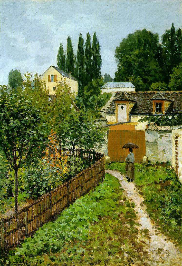 Sisley's Garden Path In Louveciennes