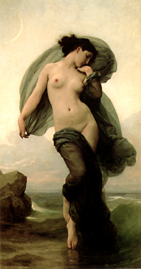 Bouguereau's Evening Mood