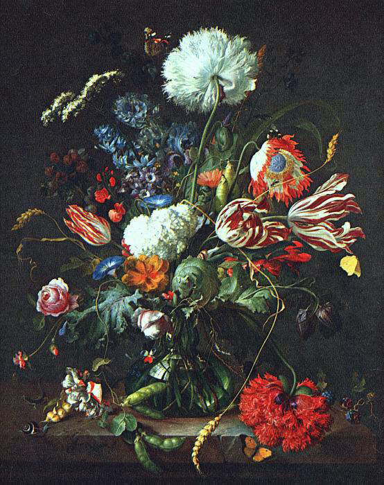 de Heem's Vase of Flowers