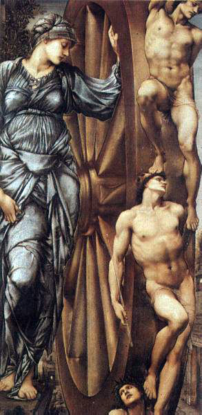 Burne-Jones's The Wheel of Fortune
