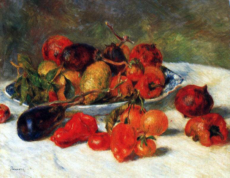 Renoir's Fruits From The Midi