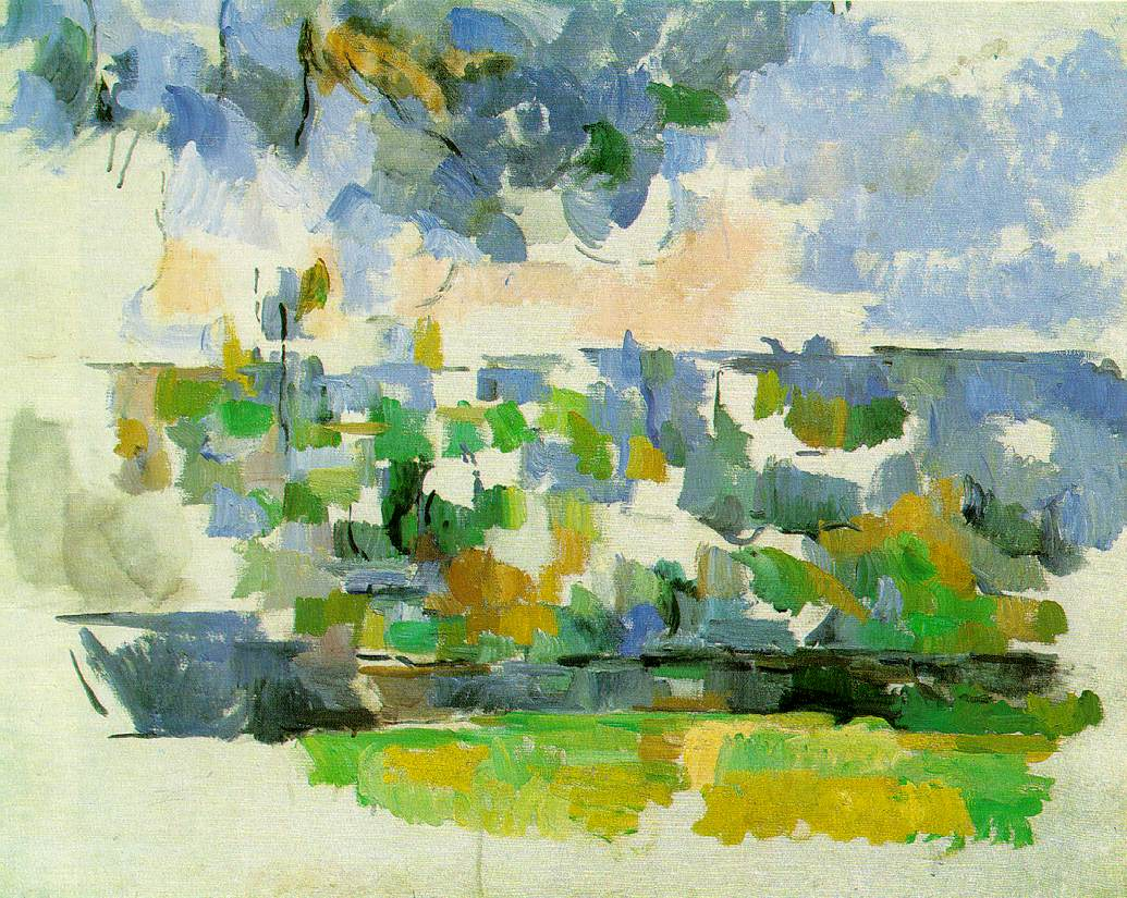Cezanne's Garden At Les Lauves