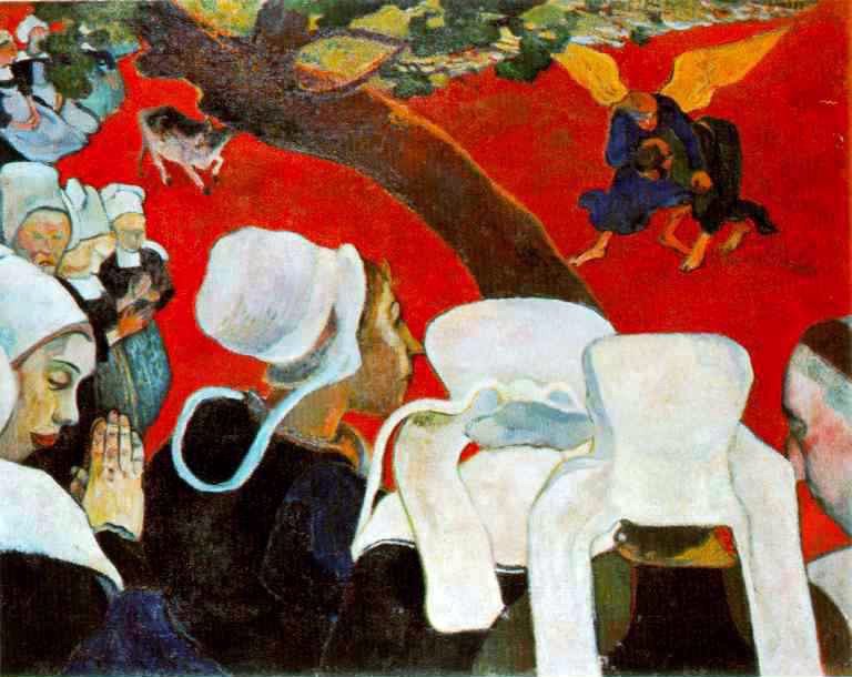 Gauguin's Version After The Sermon