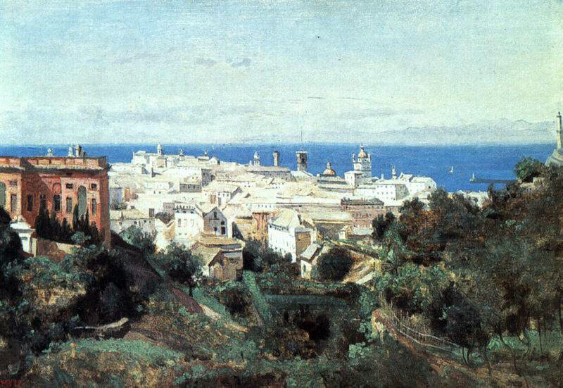 Corot's View of Genoa