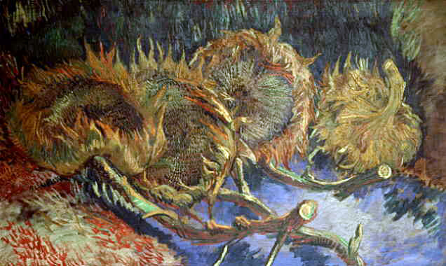 van Gogh's Still Life With Four Sunflowers