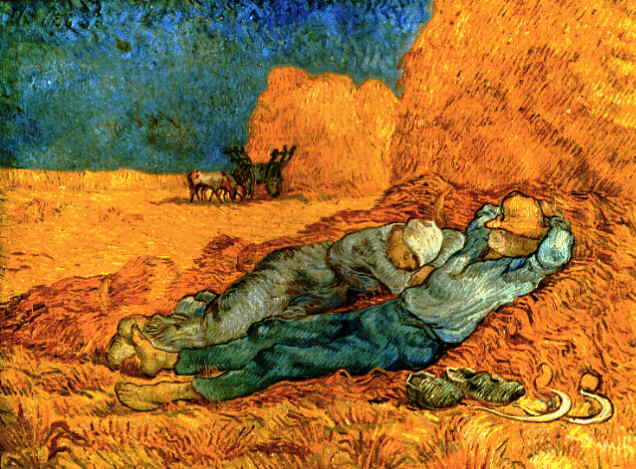 van Gogh's Noon; Rest From Work