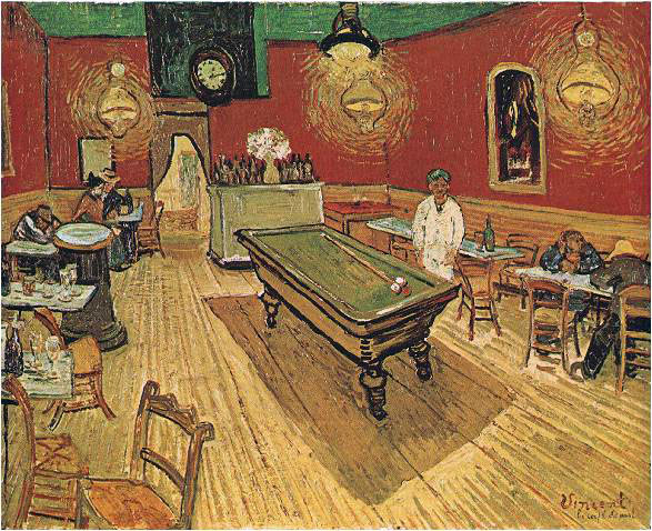 van Gogh's The Night Cafe
