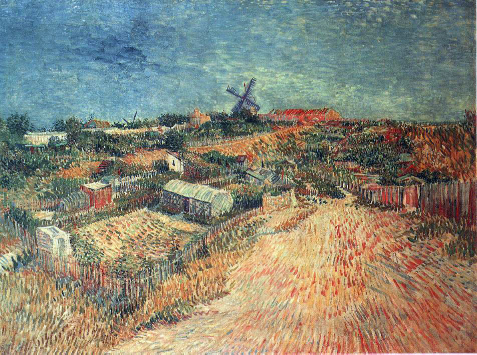 van Gogh's Vegetable Gardens in The Montmartre