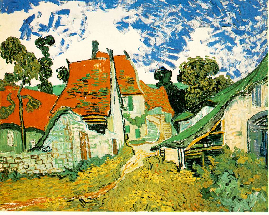 van Gogh's Village Street In Auvers