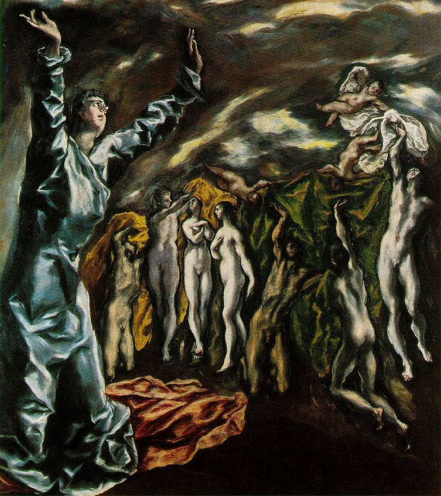 el Greco's Opening of The Fifth Seal of The Apocalypse