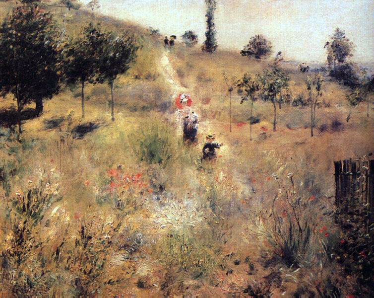 Renoir's Path Leading To The High Grass