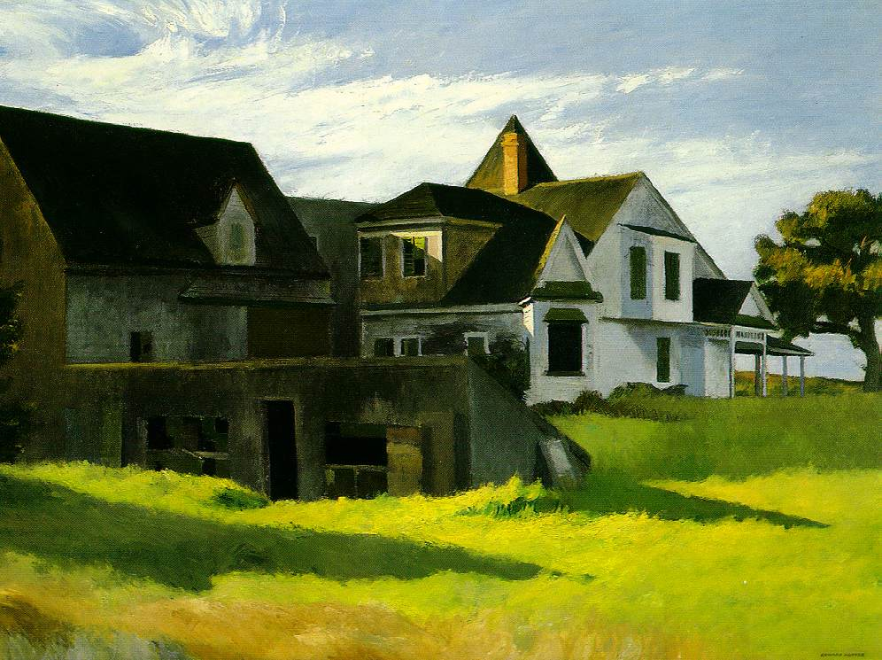 Edward Hopper's Cape Cod Afternoon