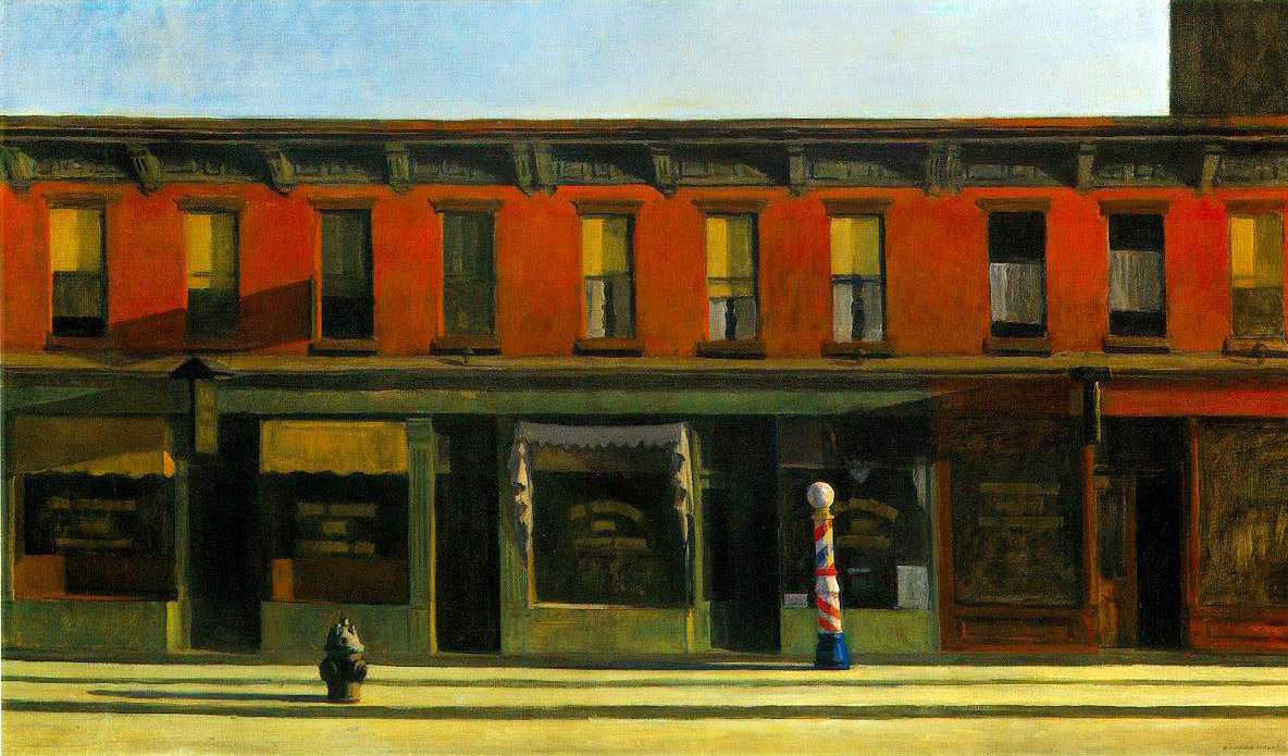 Hopper's Early Sunday Morning
