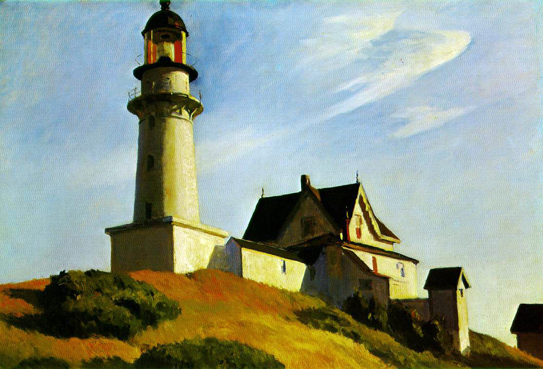Hopper's Lighthouse At Two Lights