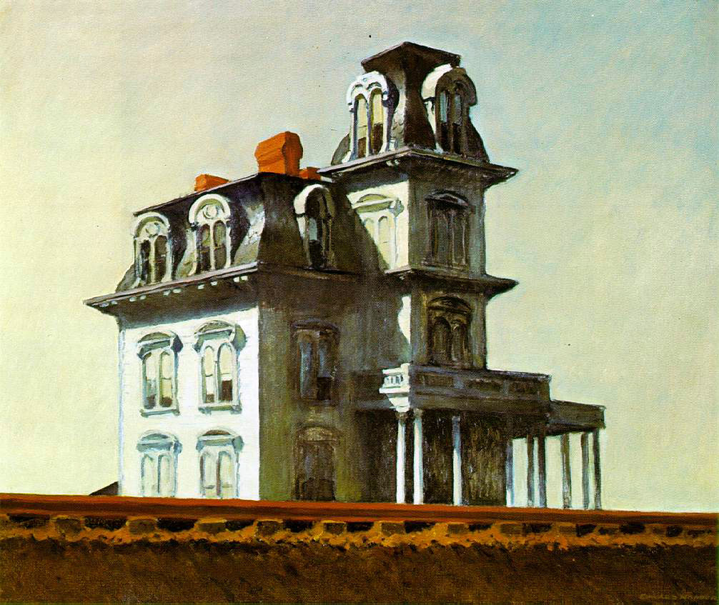 Hopper's House By The Railroad