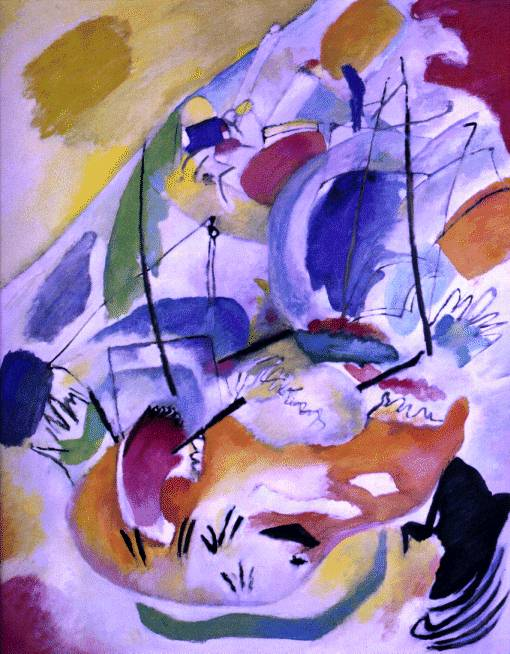 Kandinsky's Improvisation 31 (Sea Battle)