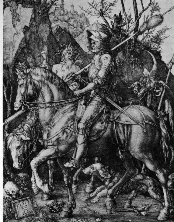 Durer's Knight, Death, and The Devil