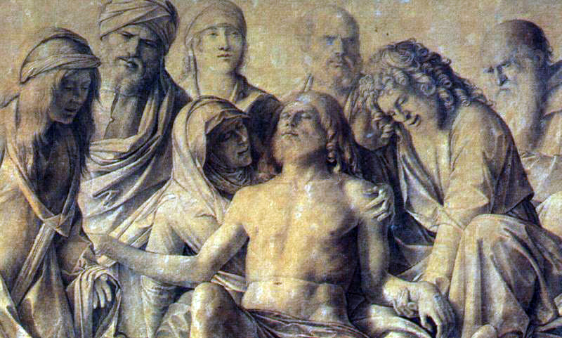 Bellini's Lamentation Over The Body of Christ