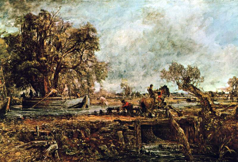 Constable's Leaping Horse