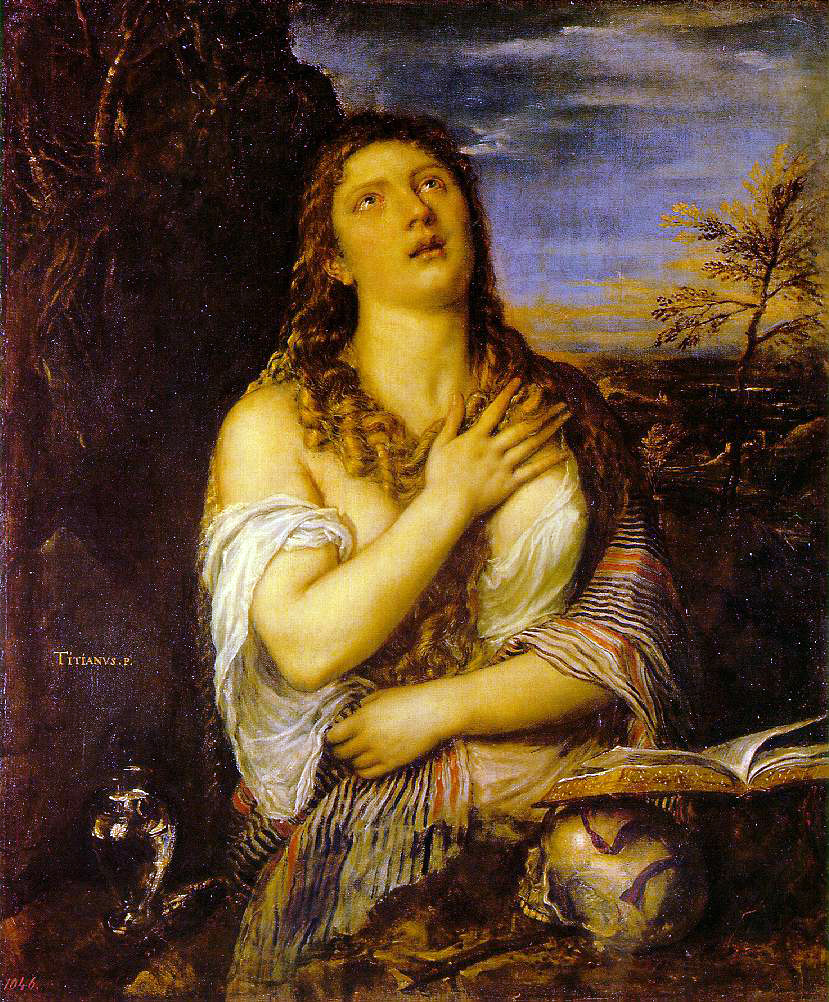 Titian's Penitent Mary Magdalen