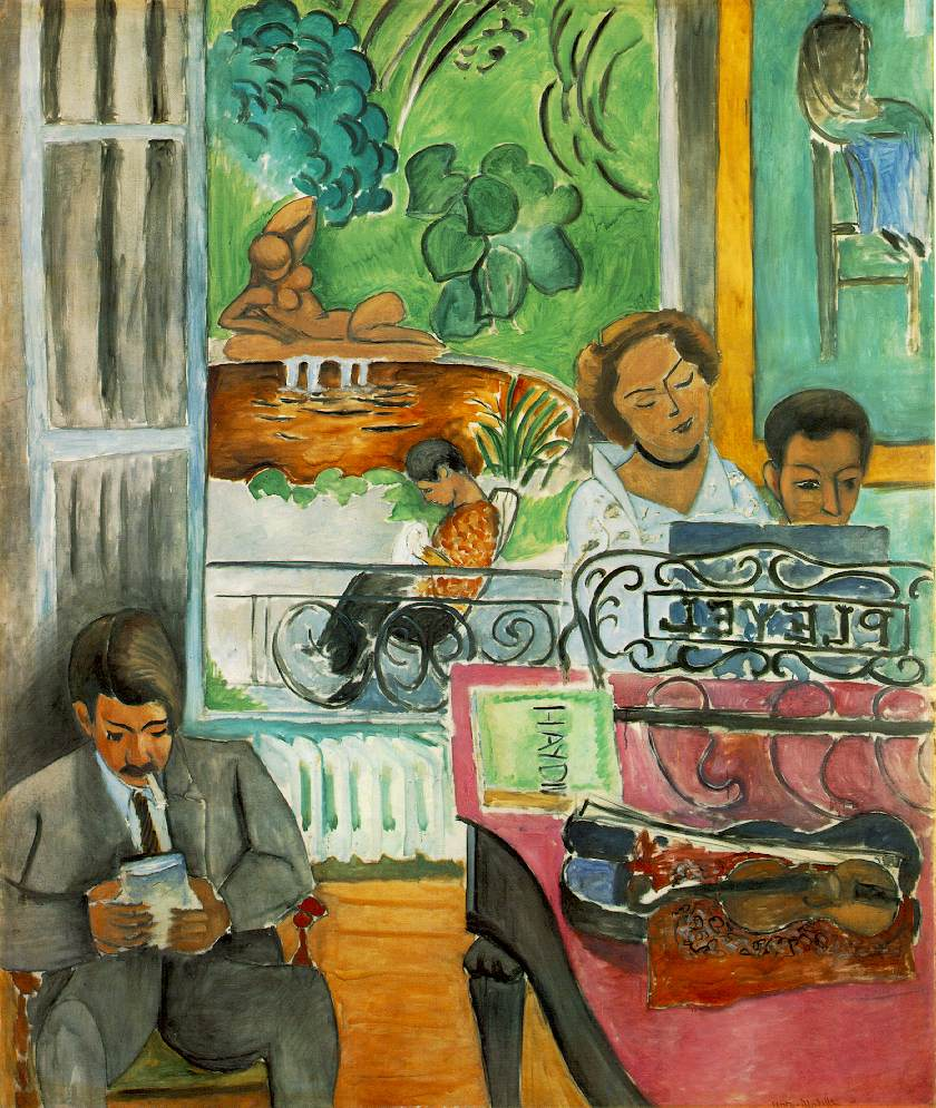 Matisse's The Music Lesson