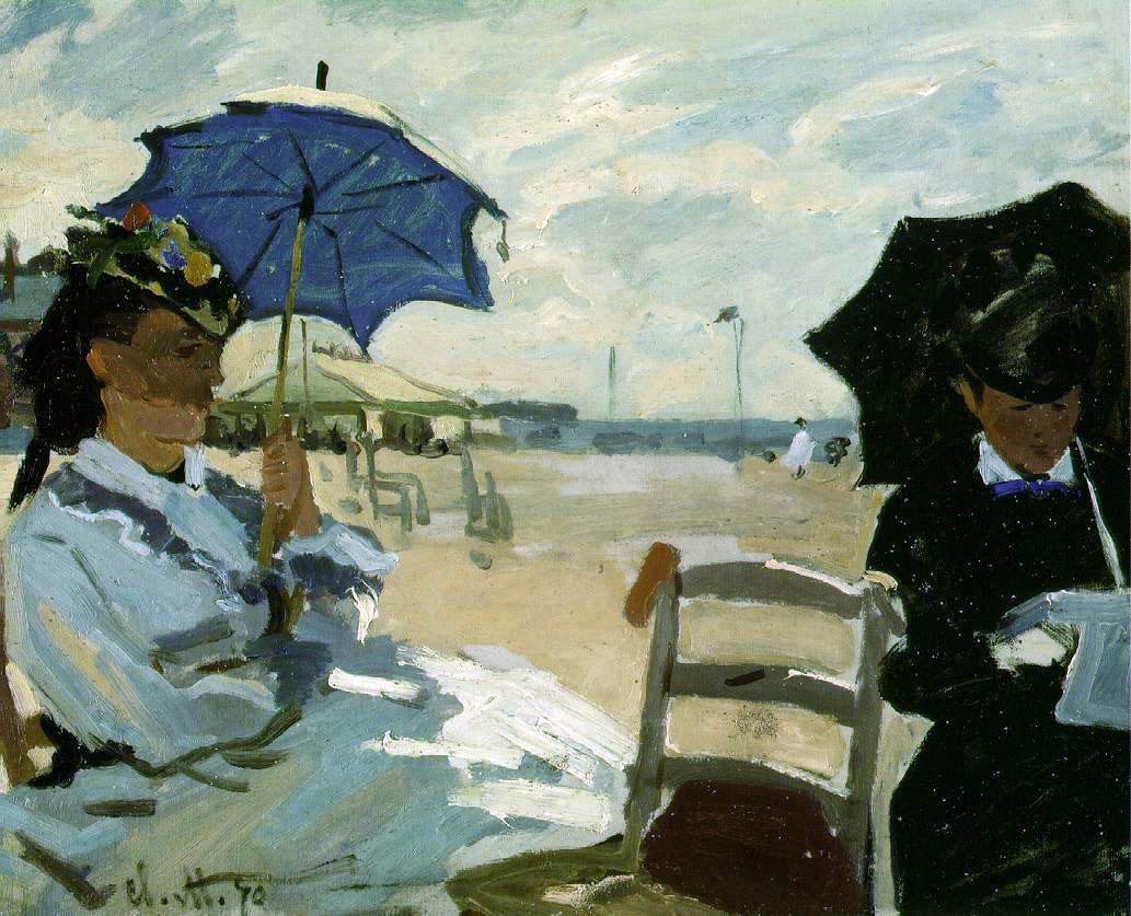 Monet's The Beach at Trouville