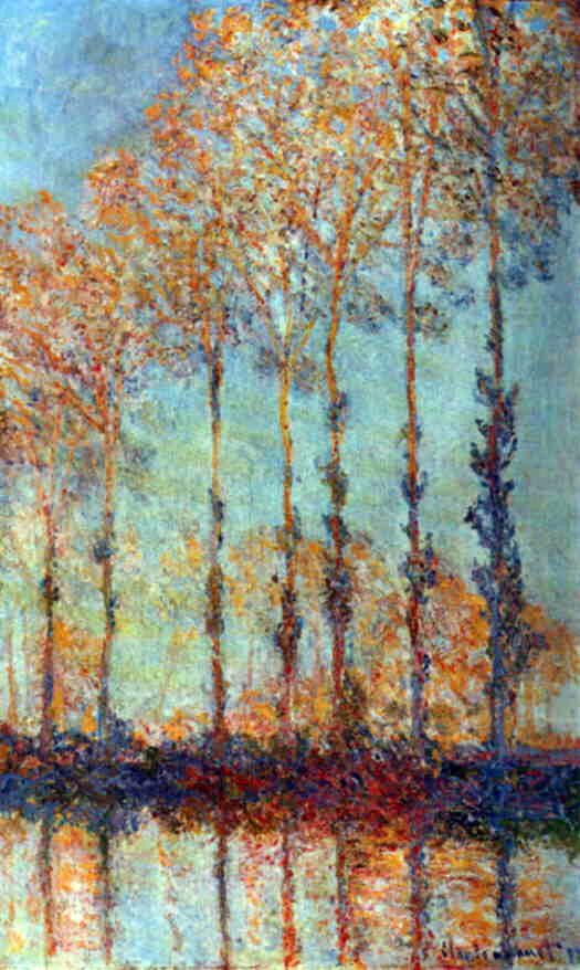 Monet's Poplars On The Epte