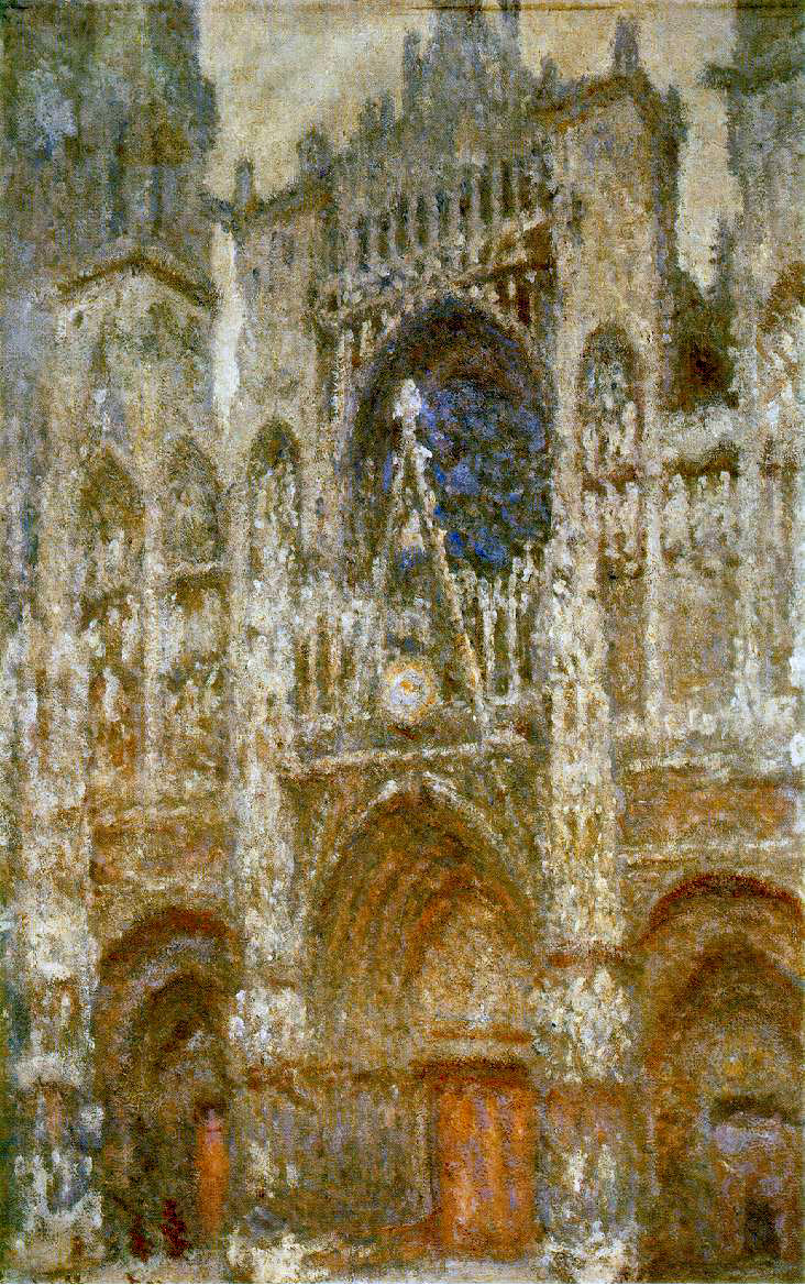 Monet's Rouen Cathedral, West Portal