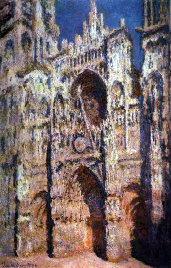 Monet's Rouen's Cathedral, Full Sunlight