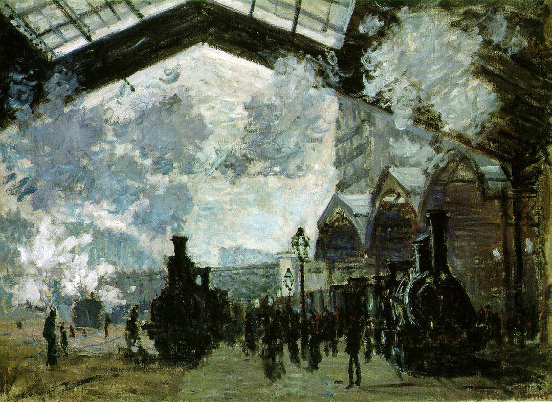Monet's Sainte-Lazare Station