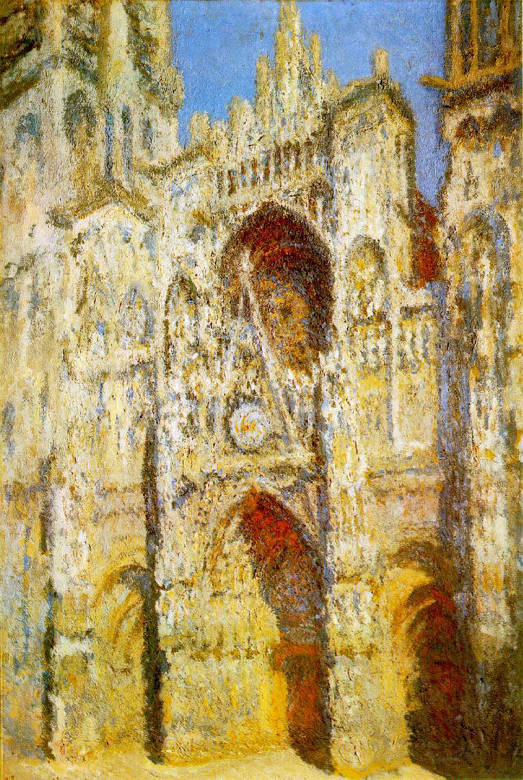 Monet's Rouen Cathedral... Harmony In Blue & Gold