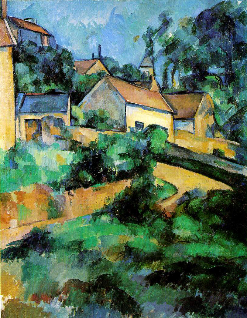 Cezanne's Turning Road At Montgeroult
