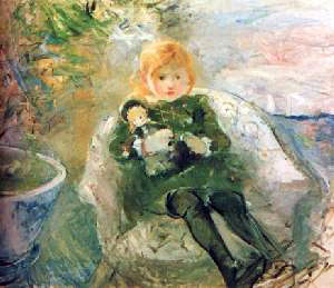Morisot's Little Girl With A Doll