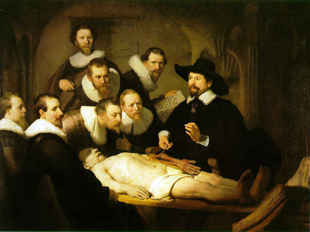 Rembrandt's Anatomy Lecture