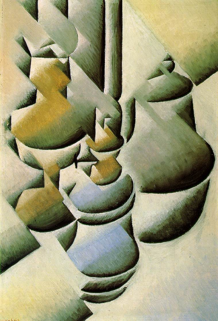 Juan Gris's Still Life With Oil Lamp