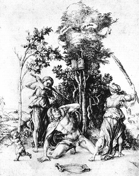Durer's Death of Orpheus
