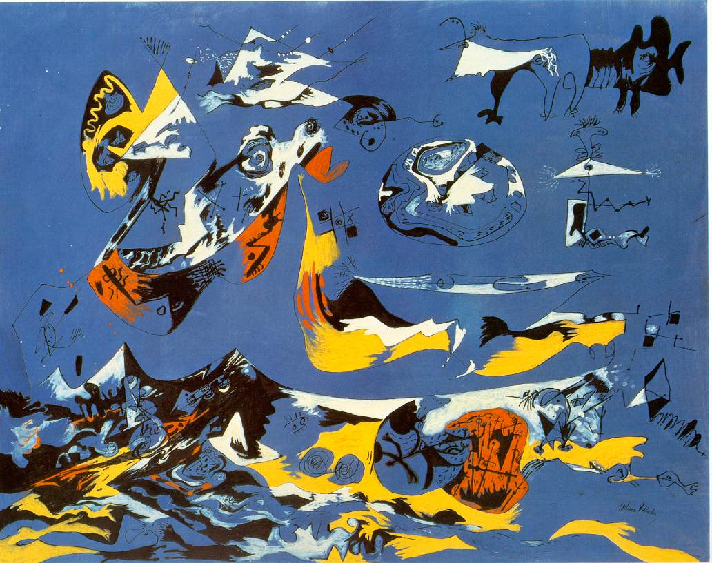 Pollock's Blue (Moby Dick)