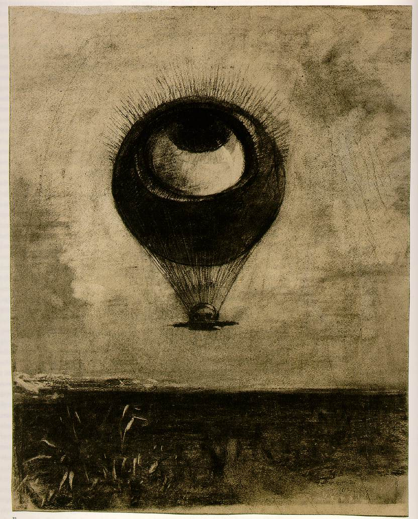 Odilon Redon's Eye-Balloon