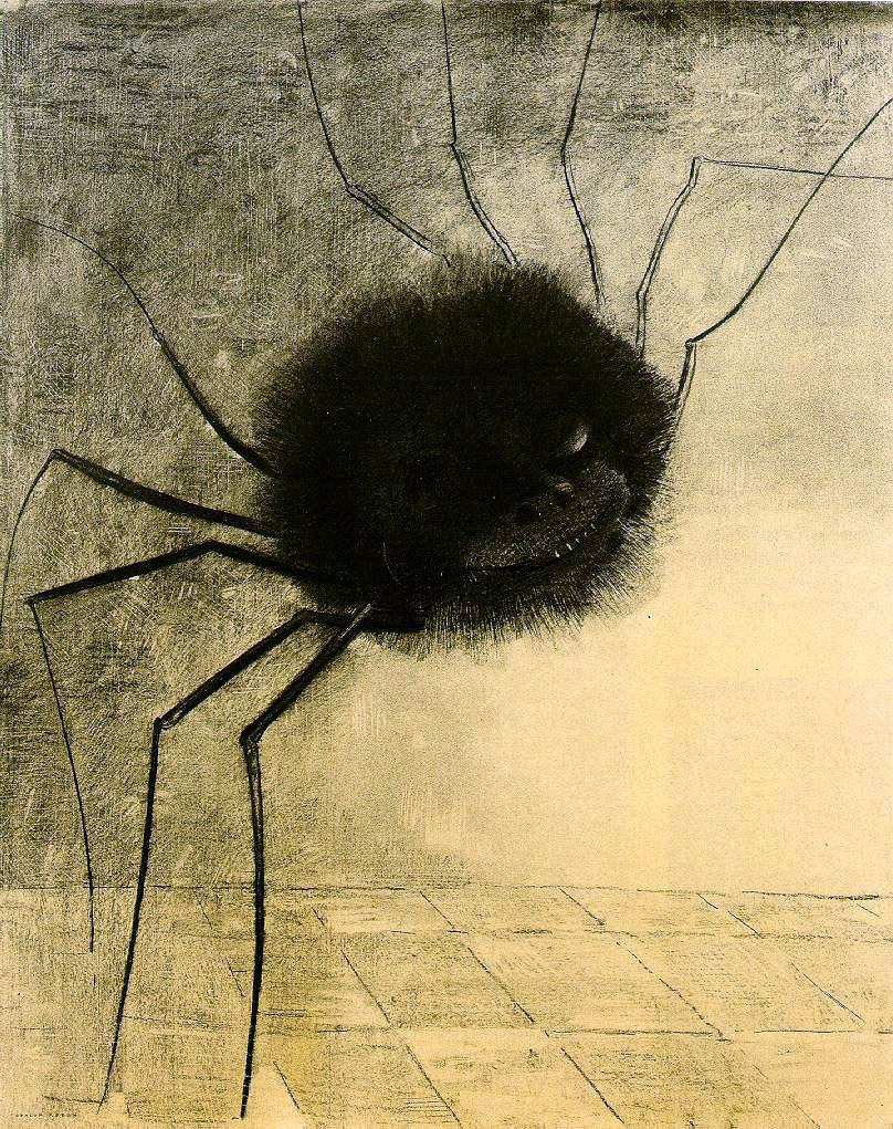 Odilon Redon's The Smiling Spider
