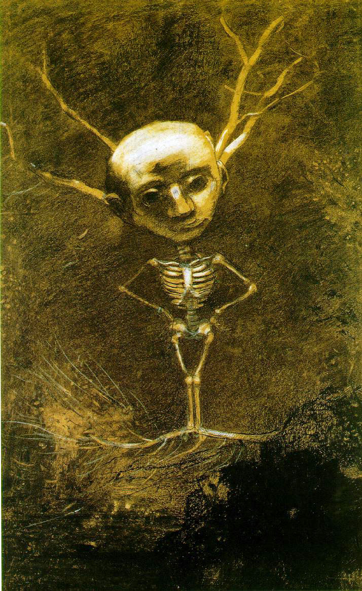 Odilon Redon's Spirit of The Forest